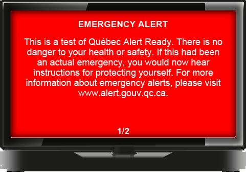 Qu 233 Bec Alert Ready Minist 232 Re De La S 233 Curit 233 Publique
